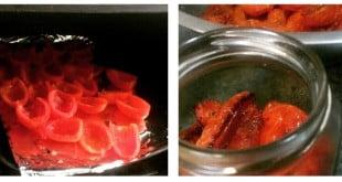 receta de tomates secos