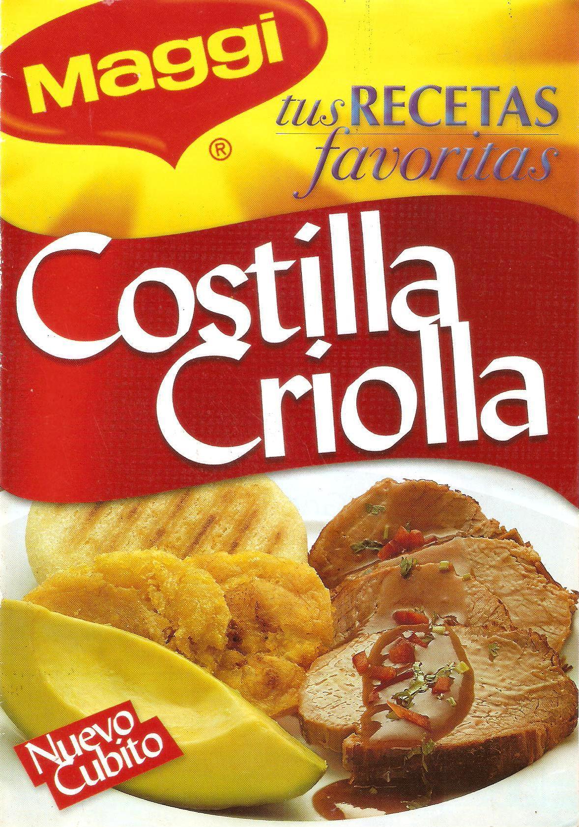cubitos costilla criolla