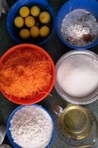 torta de zanahoria ingredientes