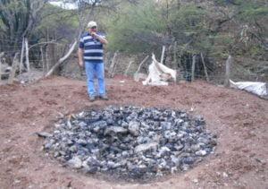 Cristóbal Sanchez en el caserío Las Guitarritas, en el Estado Lara