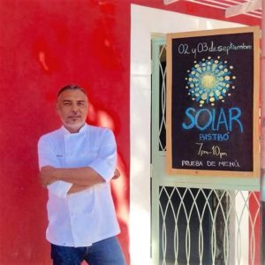 Chef Leonardo Garcés / foto: Juan Alonso Molina