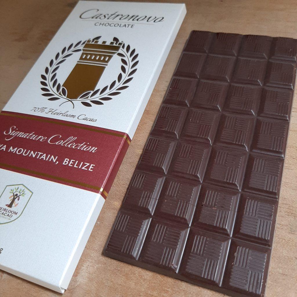 chocolate Castronovo con cacao de Belice
