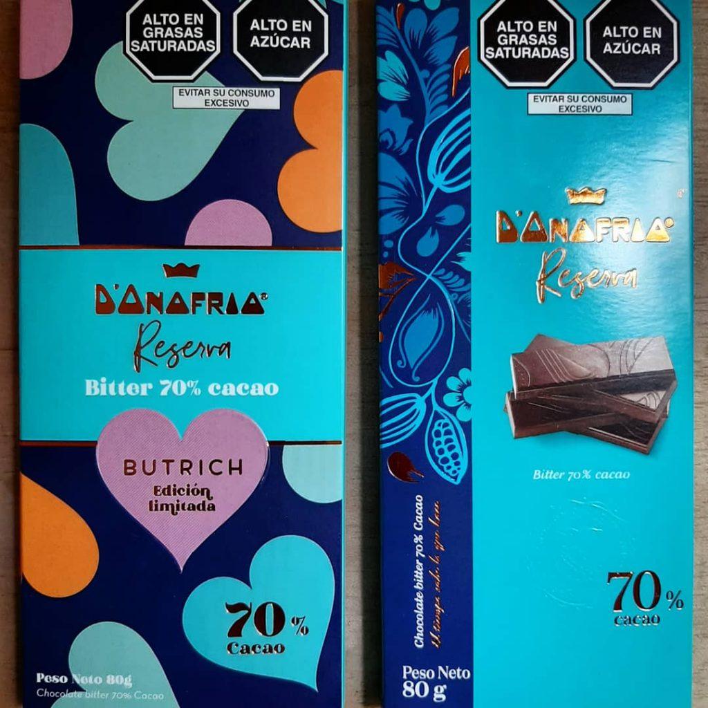 chocolate D´onofrio ahora luce así con el toque de Butrich
